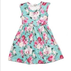 Other - NWT Baileys Blossoms girls floral pleated dress
